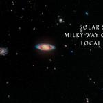 Млечный путь и галактика Андромеды